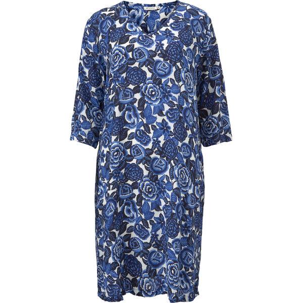NAOKI DRESS, GREEK BLUE, hi-res