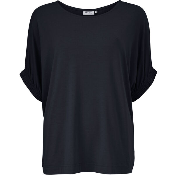 DELIA TOP, NAVY, hi-res