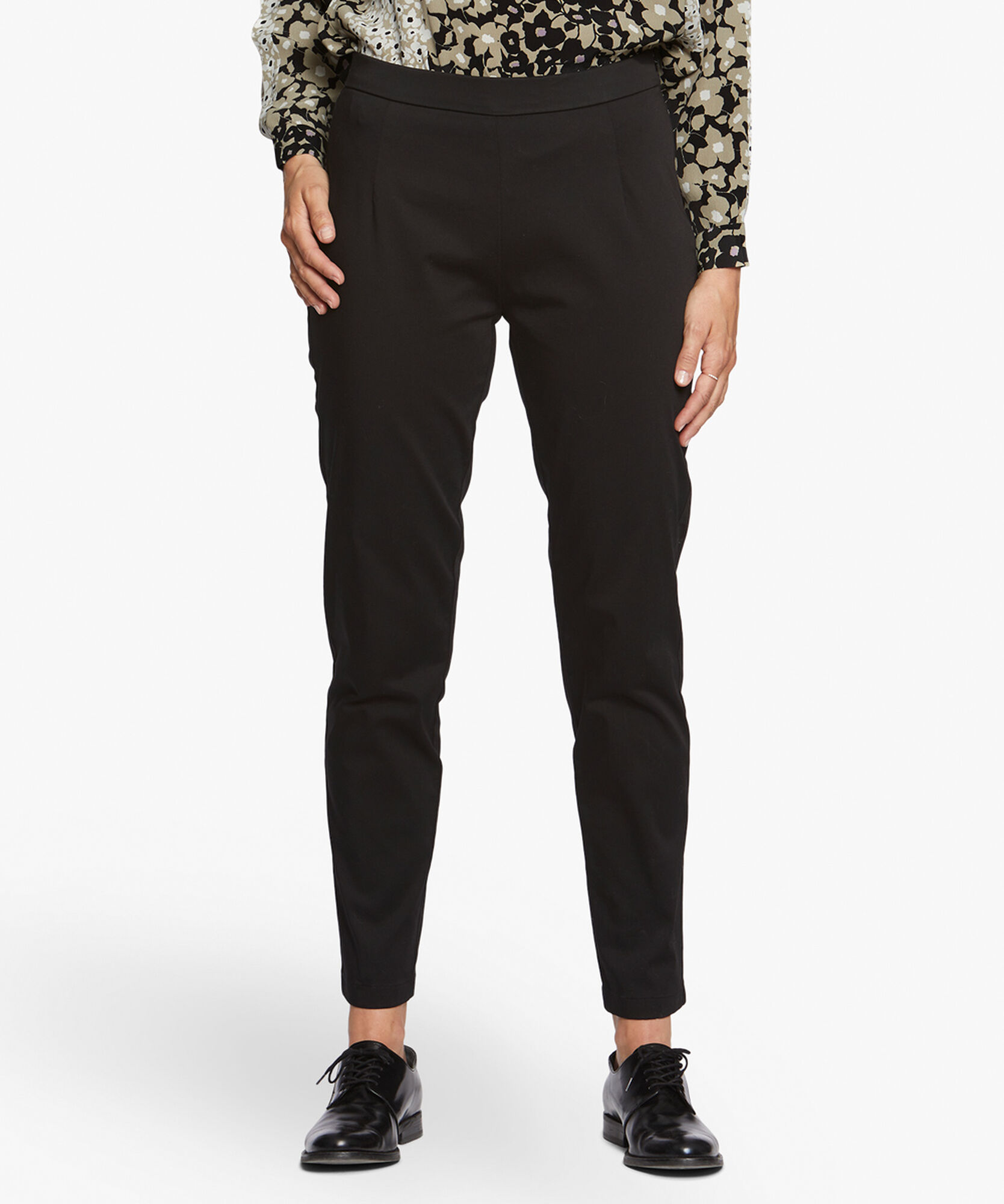 PALAS TROUSERS REGULAR, Black, hi-res