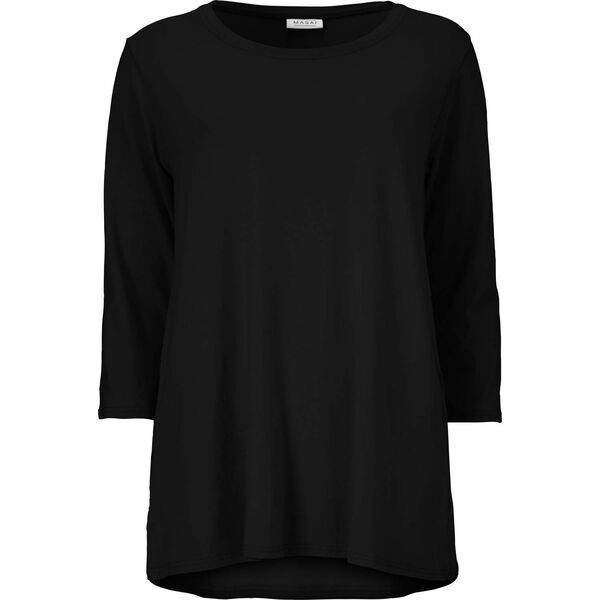 CILLA TOP, BLACK, hi-res