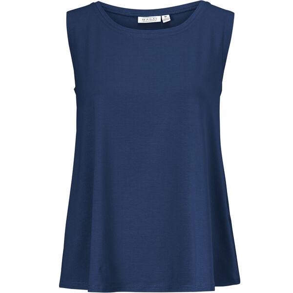 ELISA TOP, OXFORD BLUE, hi-res