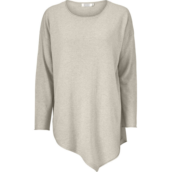 FLORA TOP, LIGHT GREY MELANGE, hi-res