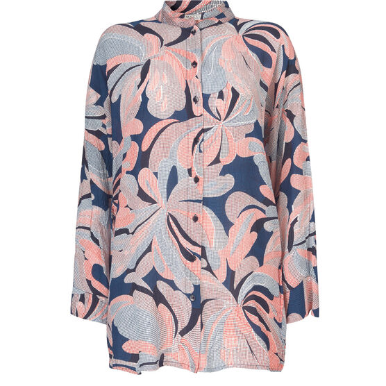 Ideqa blouse, POPPY ORG, hi-res