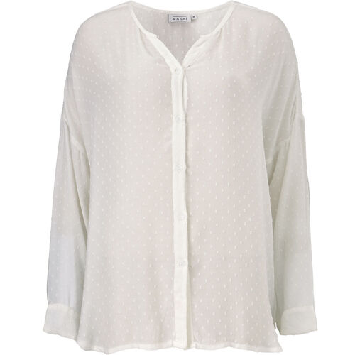 IDALIA BLOUSE, CREAM, hi-res