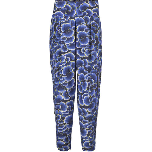 PALINE TROUSERS, NAVY, hi-res