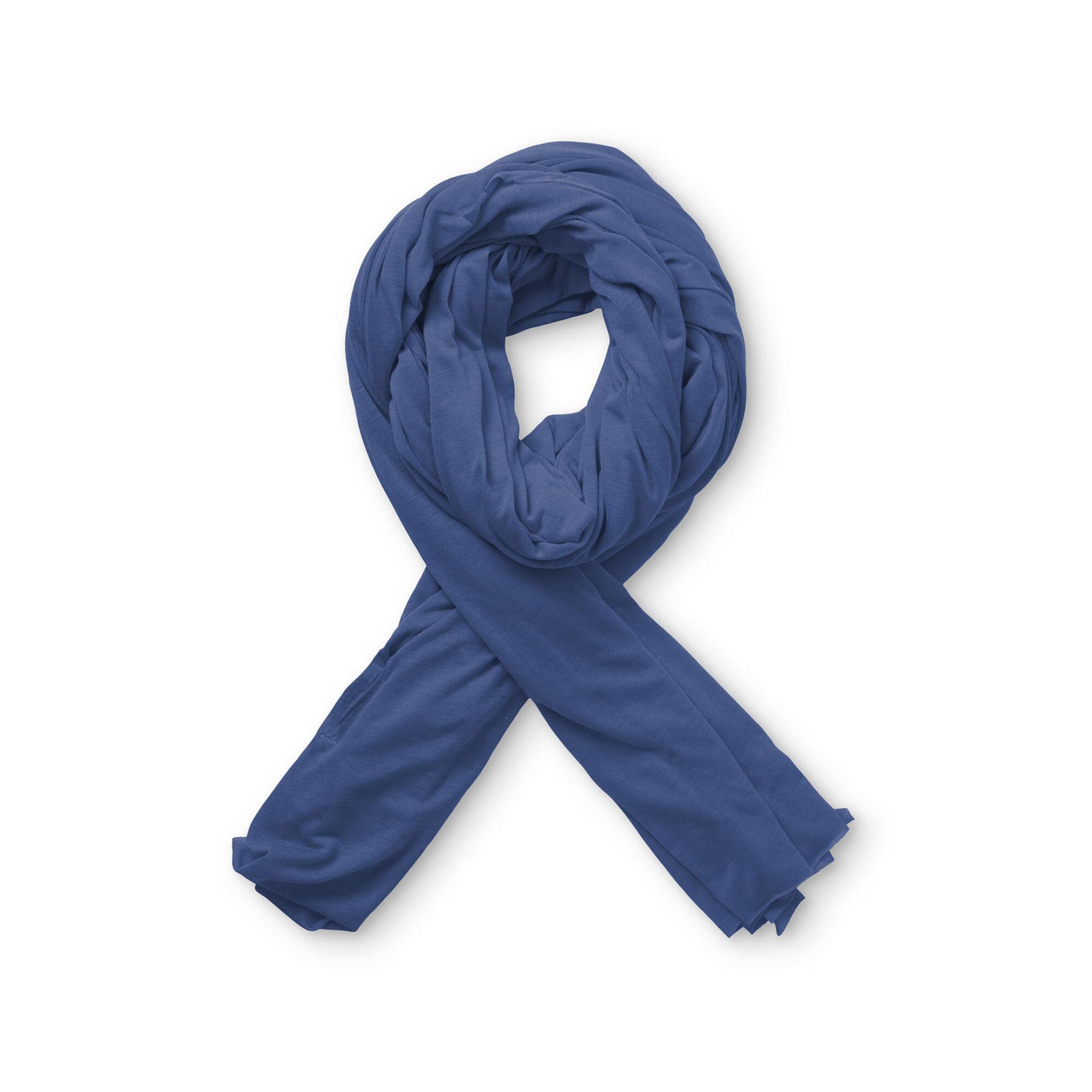 AMEGA JERSEY SCARF, Crown Blue, hi-res