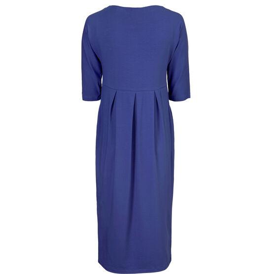 NIMMA DRESS, ROYAL BLUE, hi-res
