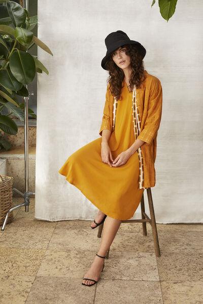 NEBILI DRESS, Inca Gold, hi-res
