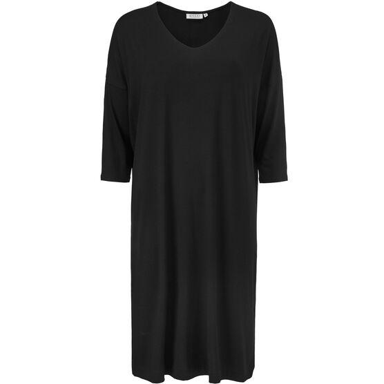 NEBINE DRESS, BLACK, hi-res