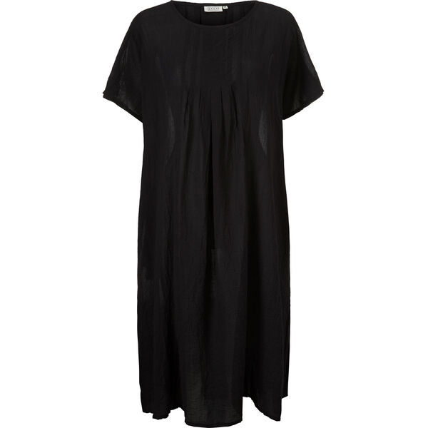 NAKATA DRESS, BLACK, hi-res