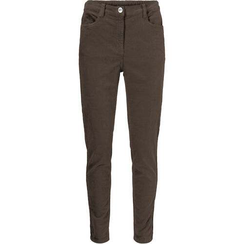 PENNY TROUSERS , CHOCOLATE, hi-res
