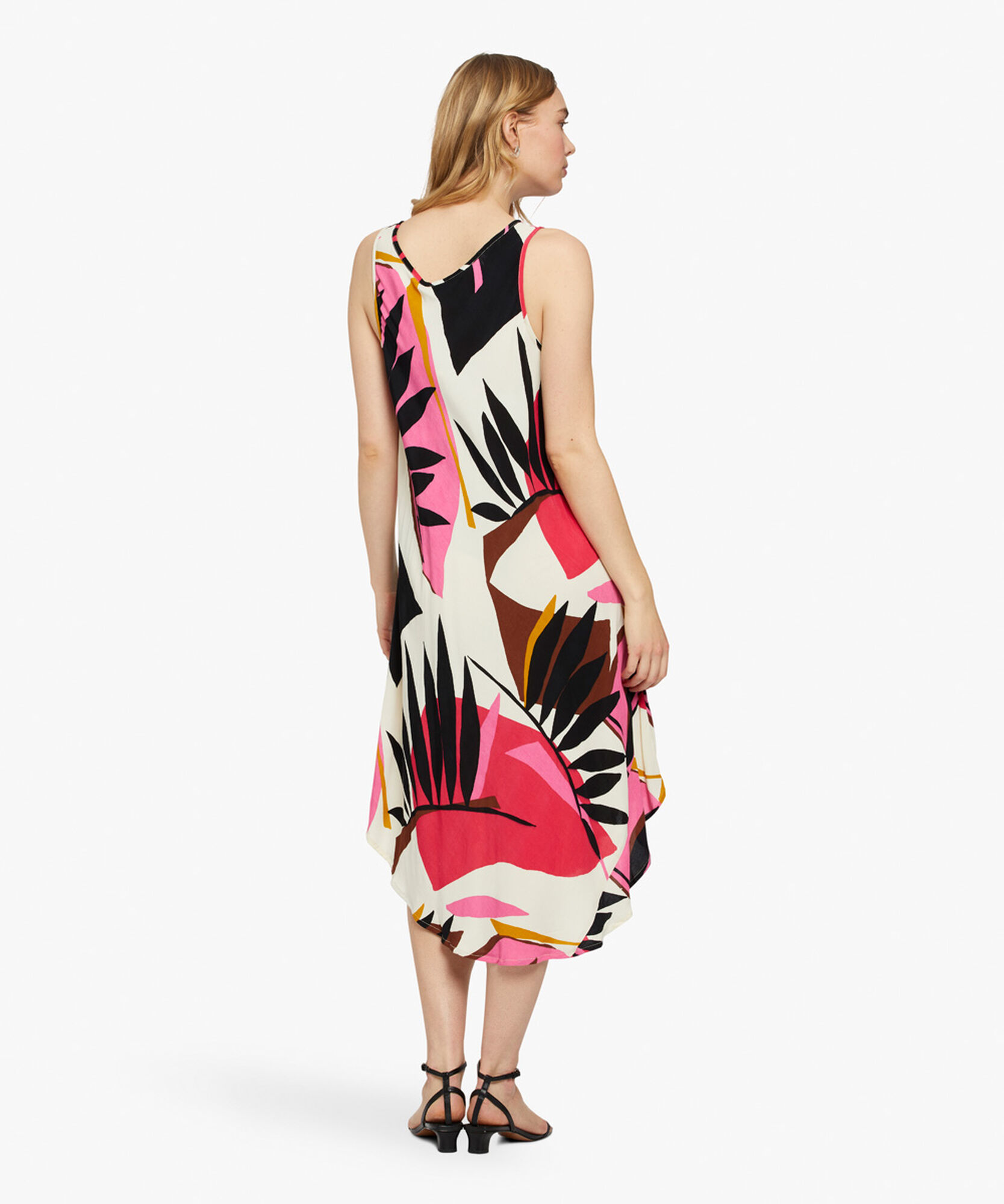 OCULLA DRESS, Azalea, hi-res