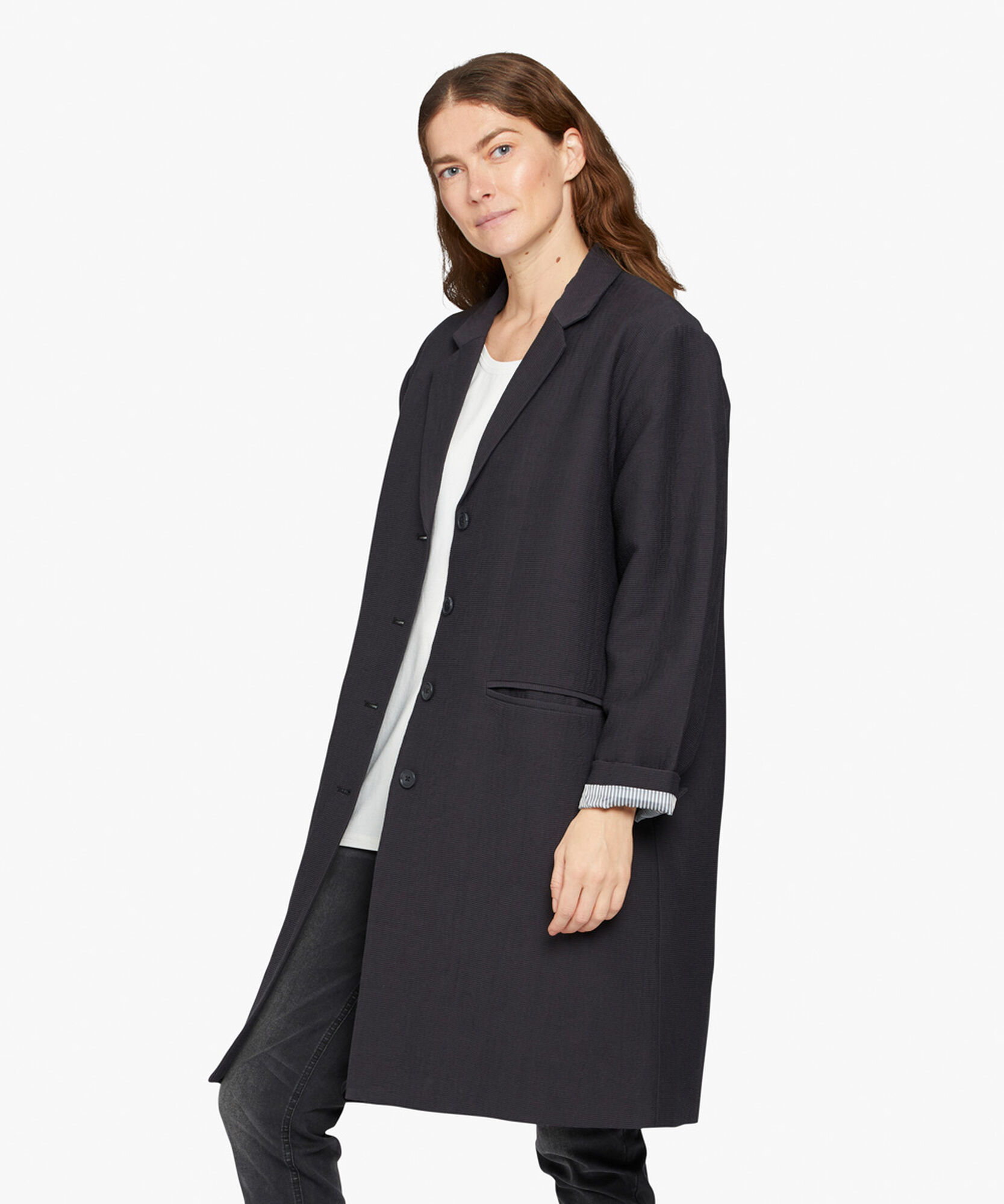 TURA COAT, Black, hi-res