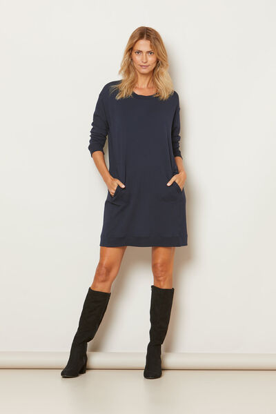 GRIZELDA TUNIC, NAVY, hi-res