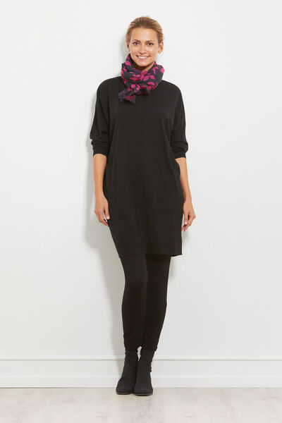 GINA TUNIC, BLACK, hi-res