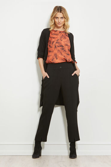PERTONI TROUSERS, BLACK, hi-res