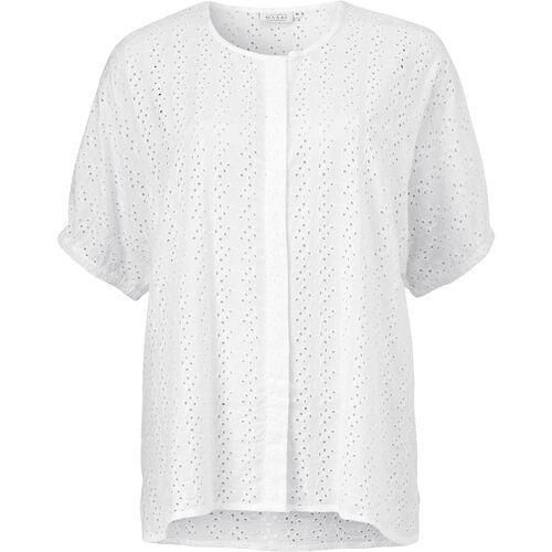 INELDA BLOUSE, WHITE, hi-res