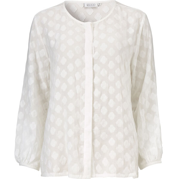 ISOLDE BLOUSE, CREAM, hi-res