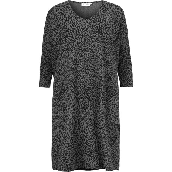 NEBINE DRESS, GREY MELANGE, hi-res