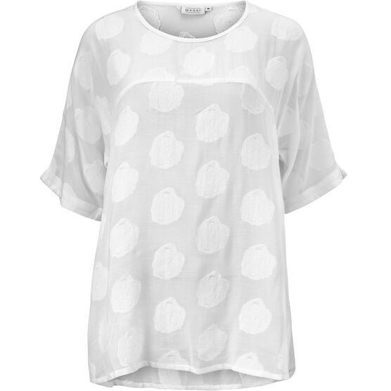 DALY TOP, WHITE, hi-res