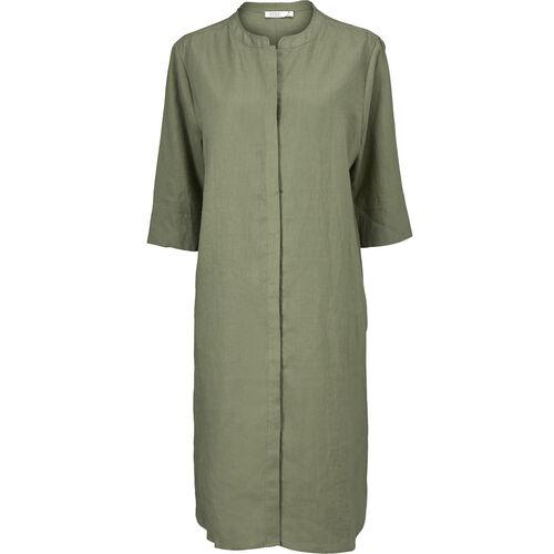 NIMES DRESS, Olive, hi-res