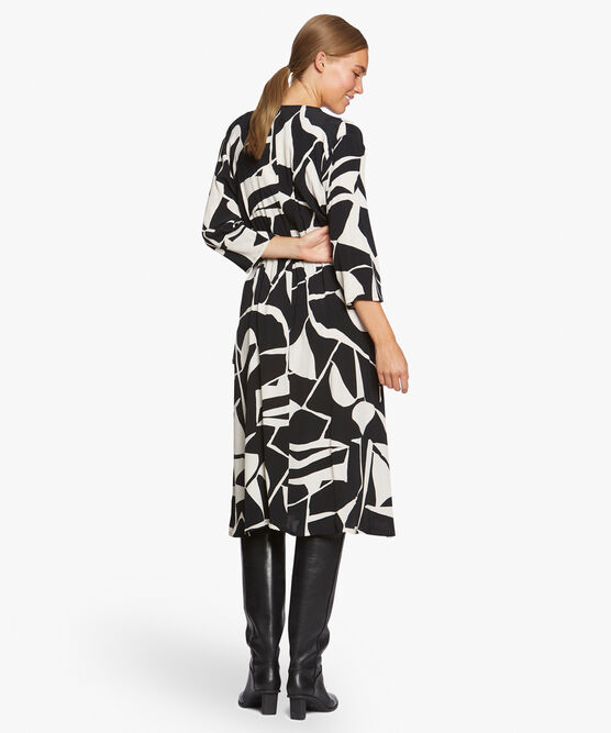 NINI SHIRT DRESS, Black, hi-res