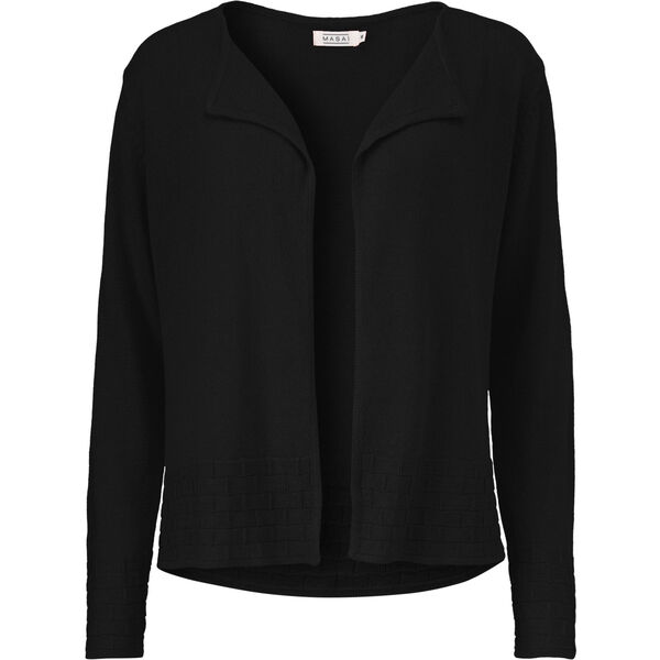 LARK CARDIGAN, BLACK, hi-res
