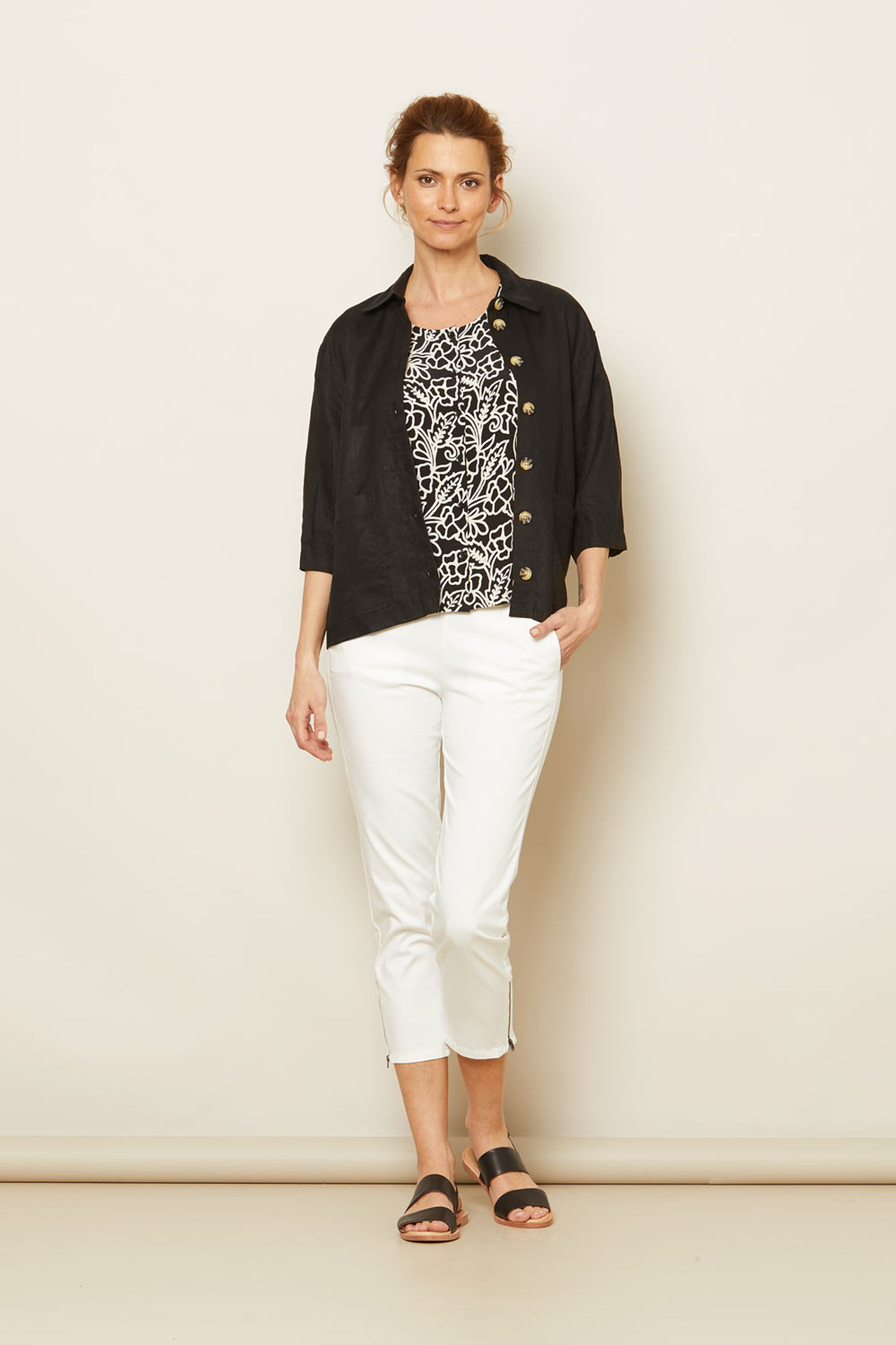 JANICA JACKET, Black, hi-res