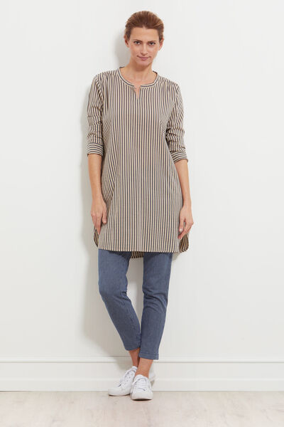 GENETTA TUNIC, BLACK, hi-res