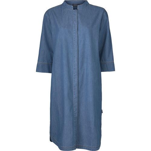 NIMES DRESS, BLUE DENIM, hi-res