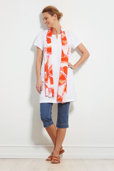 GITHA TUNIC, WHITE, hi-res