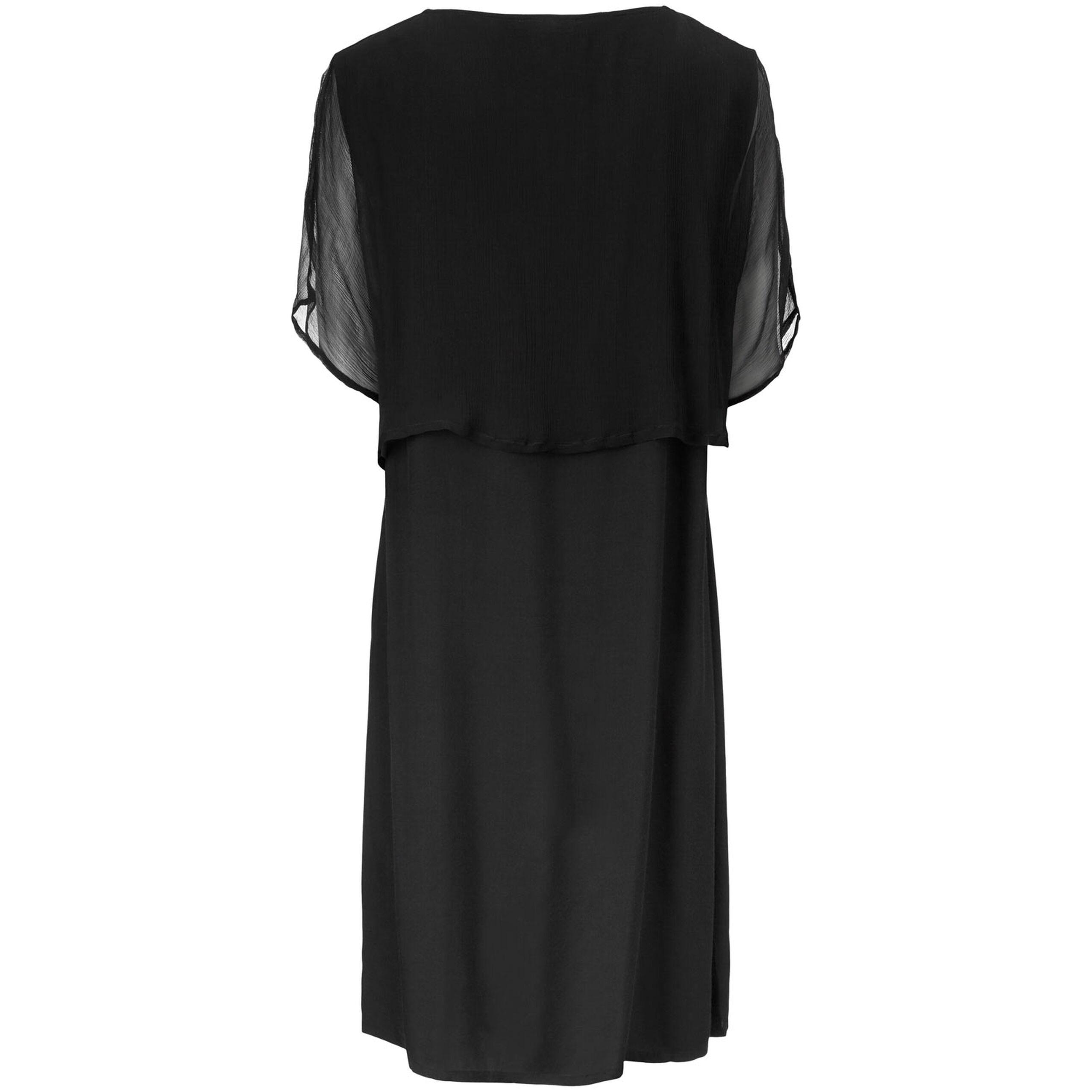 OZIA DRESS, Black, hi-res