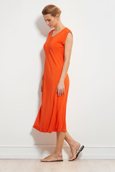 UNNI DRESS, PUMPKIN, hi-res