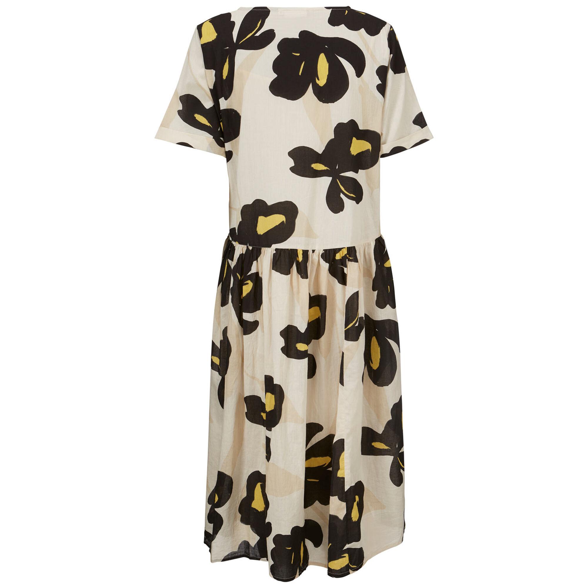 NURISA DRESS, Sauterne, hi-res