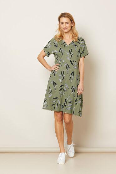 NEBALA DRESS, Olive, hi-res