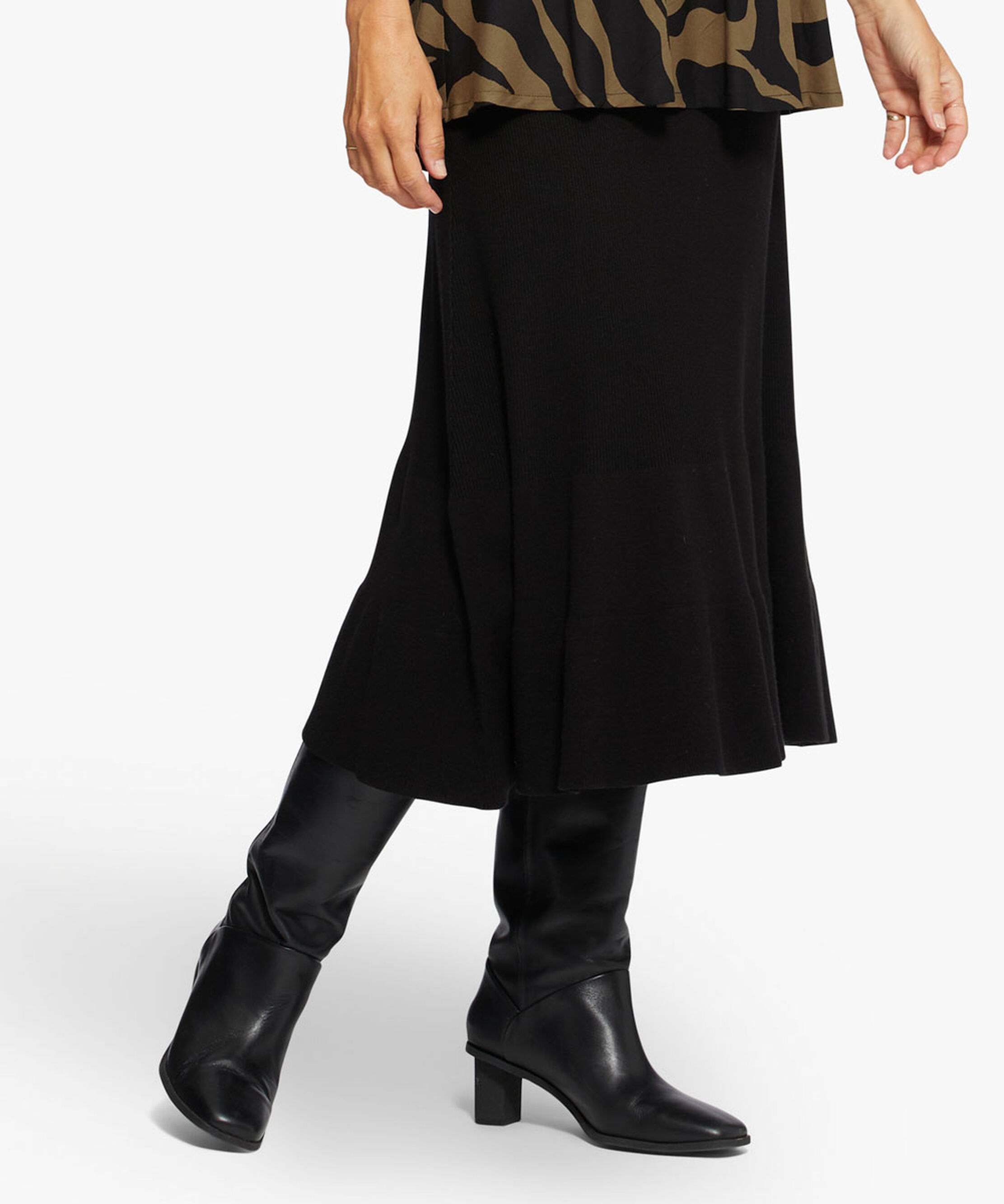 SORINA SKIRT, Black, hi-res