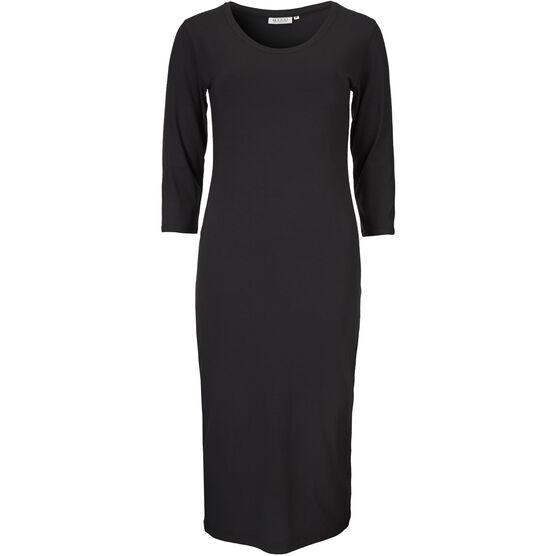 ODETTE DRESS, BLACK, hi-res