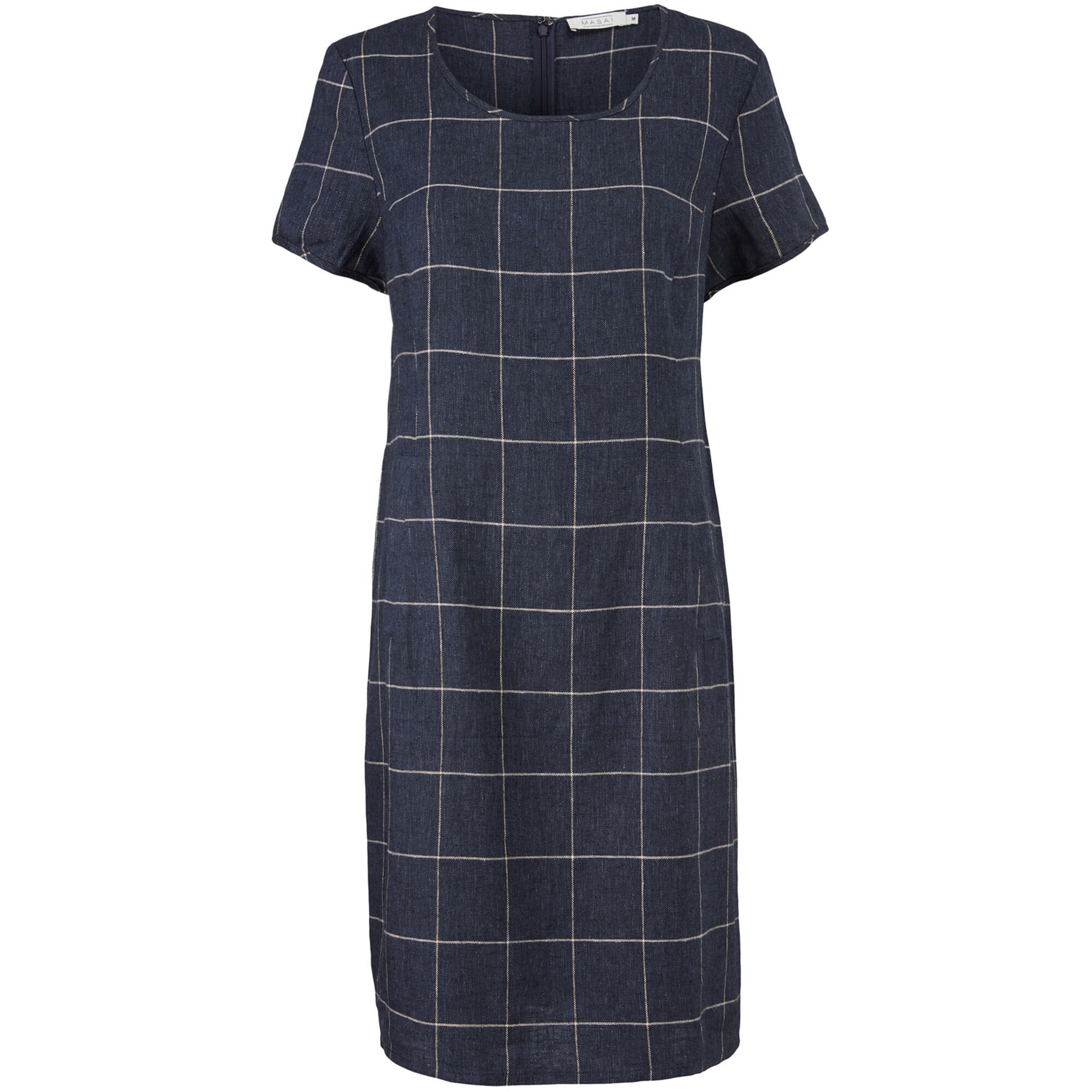 NABLA DRESS, Navy, hi-res