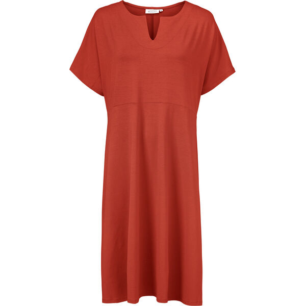 NEBALA DRESS, RED OCHRE, hi-res