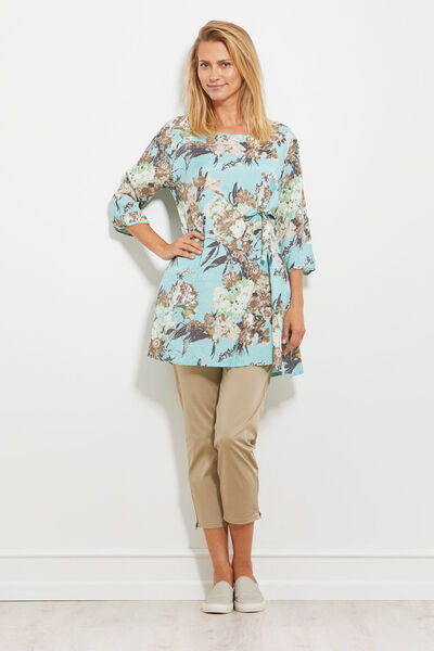 GYDETTI TUNIC, MINERAL, hi-res