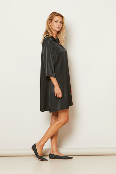 GLENSI DRESS, BLACK, hi-res