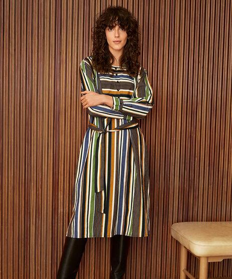 NINON SHIRT DRESS, Garden Green, hi-res