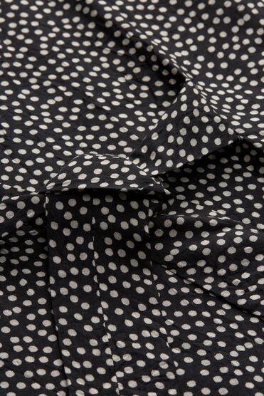 NATA DRESS, BLACK ORG, hi-res
