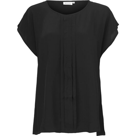 EMELY TOP, BLACK, hi-res