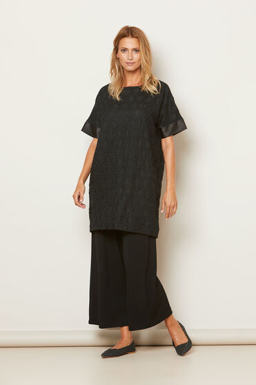 GLOTUS TUNIC, BLACK, hi-res
