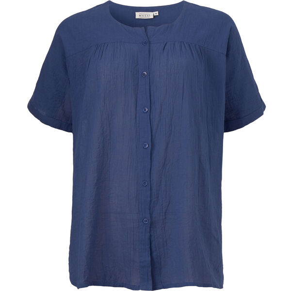 ILEEN BLOUSE, OXFORD BLUE, hi-res