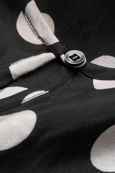 DANITA TOP, BLACK ORG, hi-res