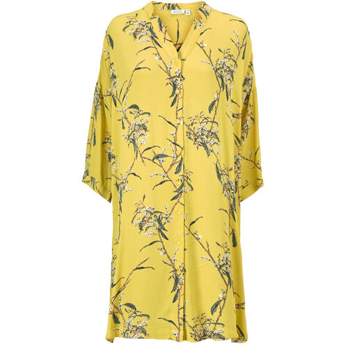 NAKATA DRESS, Cream gold, hi-res