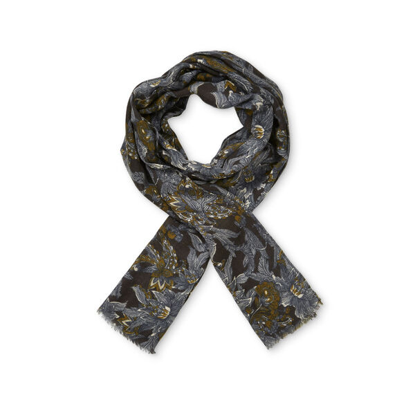 AUME SCARF, GINGER ORG, hi-res