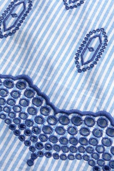 DAMI TOP, GREEK BLUE, hi-res